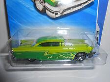 Hot Wheels 2010 Hot Auction '56 Merc (Green) #163