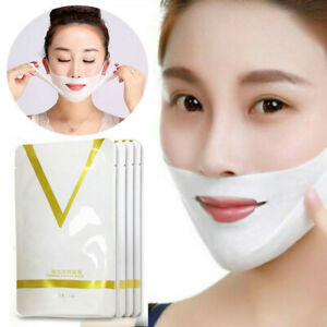 4D-V-Shape-Thin-Face-Mask-Slimming-Lifting-Firming-Fat-Burn-Double-Chin-V-line
