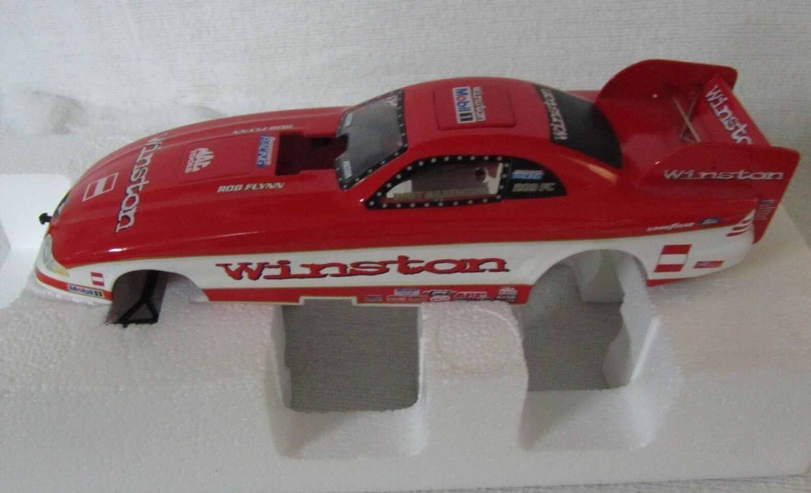 Action NHRA WHIT BAZEMORE WINSTON 1997 Mustang Funny Car ~1:24 Scale NIB