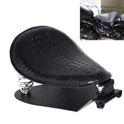 Motorcycle Alligator Solo Seat Spring Base Kit For Harley Sporster XL 1200 883 H