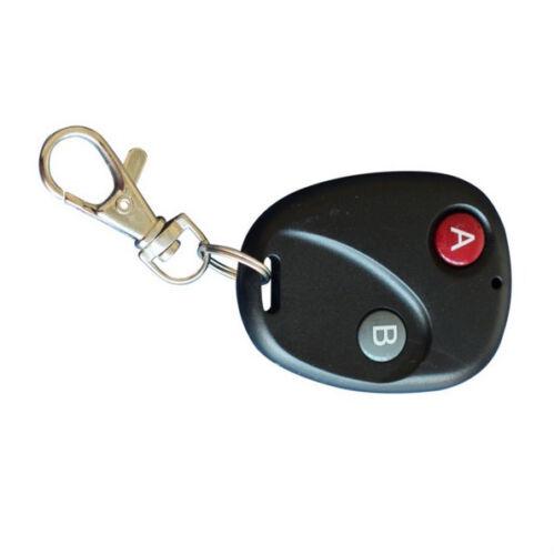 1Pc RF Remote Control Key Garage Gate Door Transmitter Wireless 315MHz//433MHz