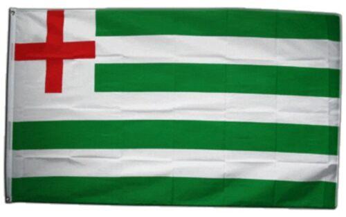 Fahne Großbritannien green white Stripe Ensign Haus Tudor Naval Ensign Flagge
