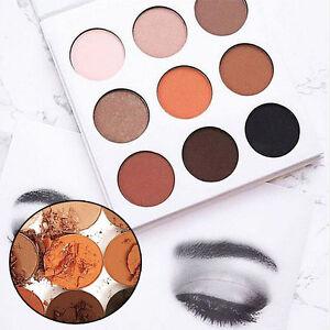 Long-Lasting-Makeup-Matte-Kit-Eyeshadow-Palette-In-Bronze-Cosmetics-9-Colors-Set