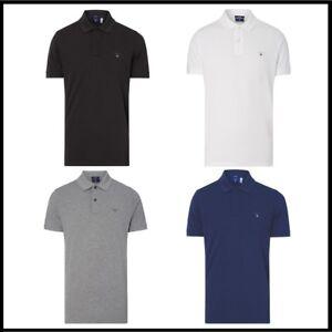 2301e63beab4 Das Bild wird geladen GANT-Poloshirt-Herren-Polo-Shirt-Classic-RUGGER-Slim-