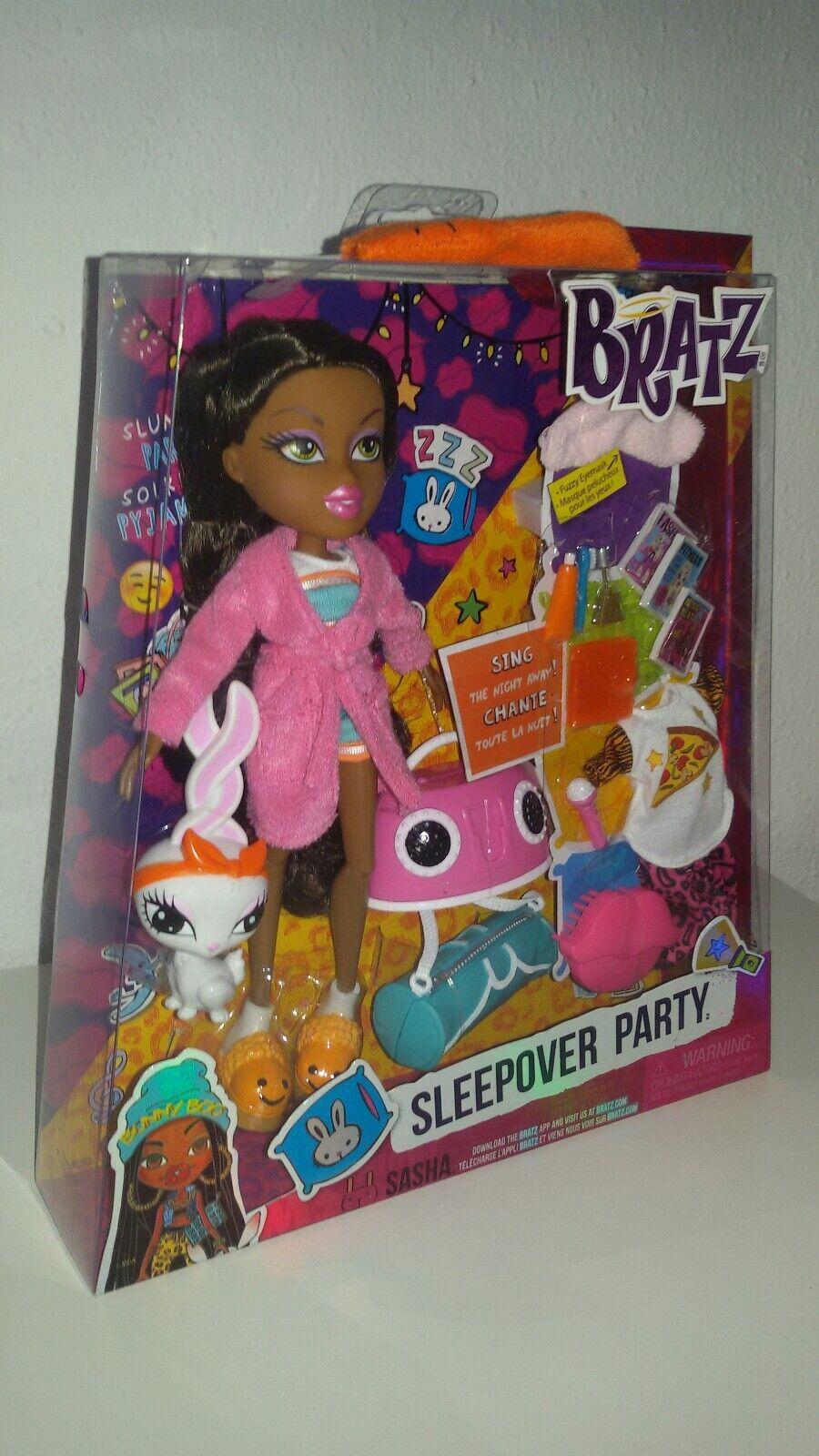 Bratz Puppe Sasha  Sleepover Party  NEU in OVP