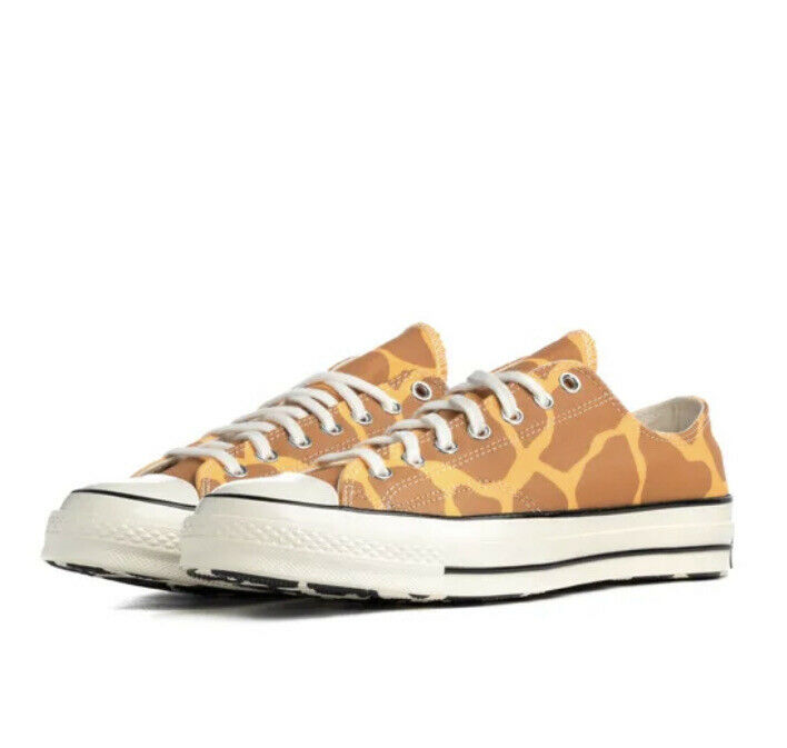CONVERSE® Giraffe Print Sz 7 167810C   Mello Baller™   Low-Top   NEW