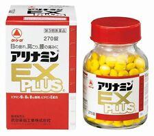 Takeda ALINAMIN EX Plus 270 tablets, Vitamin B1, B6, B12 supplement