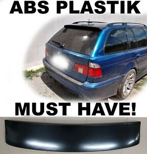 Fits BMW E39 Touring Estate Wagon Rear Trunk Spoiler Tail Gate Lid Lip Wing