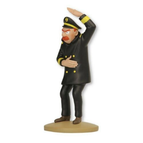 El Capitán Chester 14cm Librito Nº94 Figura de colección Tintín 2015
