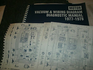1977 1978 ford granada mercury monarch wiring vacuum diagrams Ford Ignition Wiring Diagram