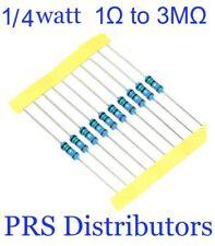 20 Pieces Resistor Metal Film 1 To 3m 14w 025 W 1 Tolerance Usa Seller