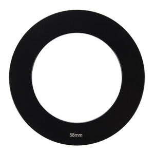 Filter-Holder-58mm-Lens-Black-Metal-Adapter-Ring-for-Cokin-P-Series-J5X9