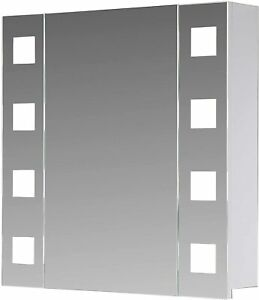 Eurosan-New-York-80-cm-1-tuerig-Spiegelschrank-Badschrank-Alibert-LED-Beleuchung