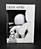 Mighty Muggs Blank White Rare Action Figure from 2008 by Hasbro MISB Toys