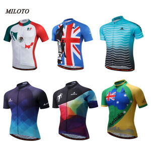 Image is loading MILOTO-Cycling-Jersey-Bicycle-Jersey-Cycling-Clothing-Bike- 6cb7927a5