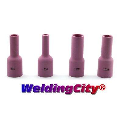 26 WP-17//18 Nozzle #12 GAS LENS LARGE DIAMETER 53N87 5 x TIG Ceramic Cup