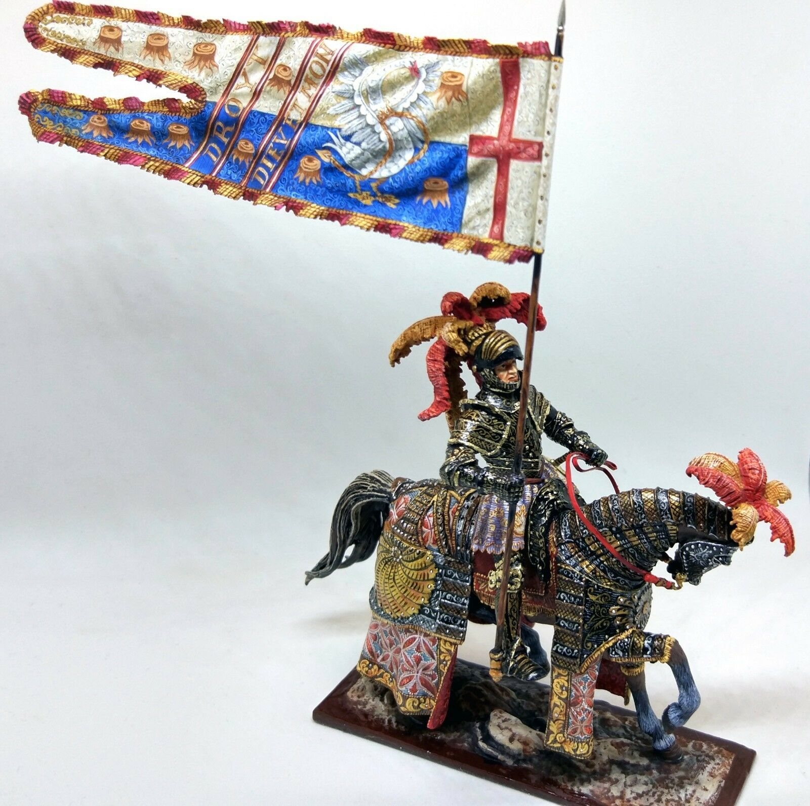 Henry V - The King of England, Elite Quality, Historical Miniature;54mm Cavalry