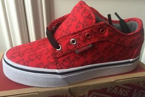 f4e4ec4d6a29 New Vans Chukka Low Nintendo Red BOB-OMB Kids Youth NES SNES Mario ...