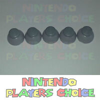 Nintendo Gamecube Joystick Caps 5 Left [gray] Replacement Parts