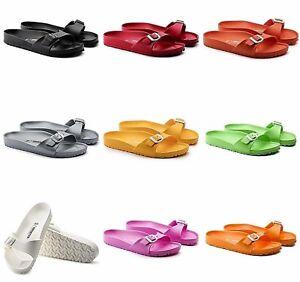 65fc6f443d465 Image is loading NIB-Birkenstock-Womens-EVA-Slide-Sandals-Pool-Slippers-