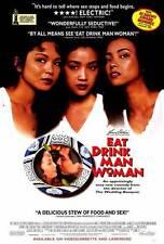 EAT DRINK MAN WOMAN Movie POSTER 27x40 B Sihung Lung Kuei-Mei Yang Yu-Wen Wang