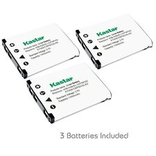 3x Kastar Battery for EN-EL10, K7006, LI-42B, FNP45, CNP80 and D-Li63