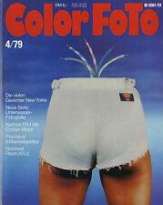 Color Foto 4/79 1979 Ricoh XR-2 Yashica FR-I Novoflex Proson Hama Date Printer