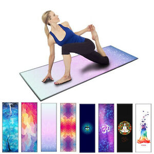 Non-slip-Yoga-Mat-Carrier-Mattress-Cushion-Thick-Exercise-Gym-Fitness-Pilates