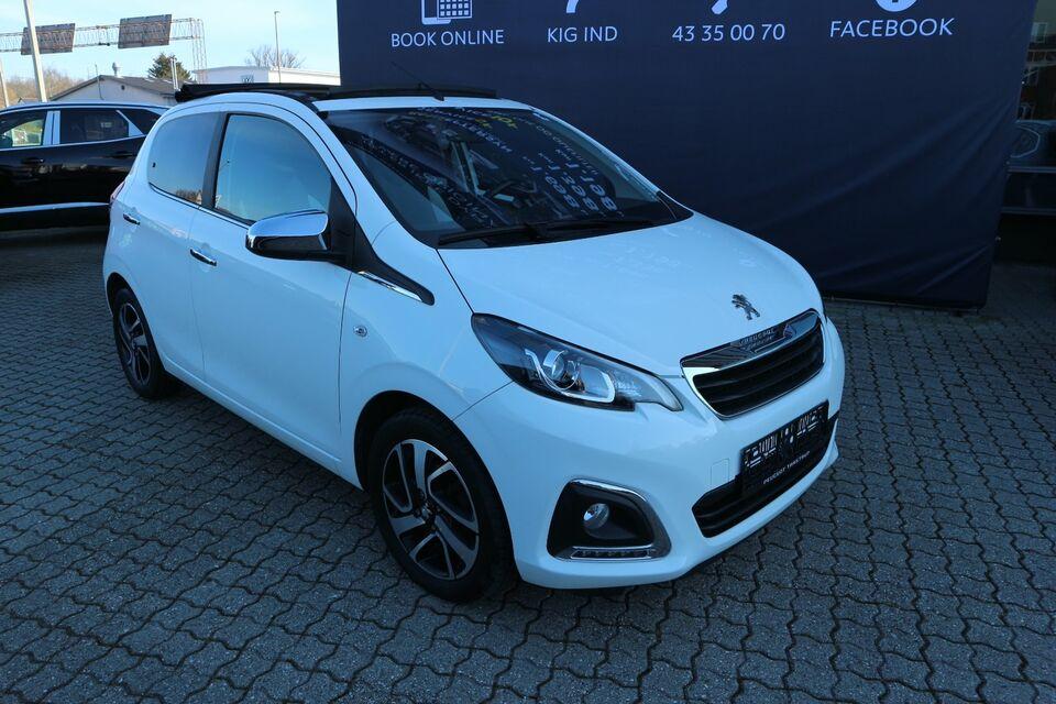 Peugeot 108 1,0 e-VTi 69 Desire TOP! Benzin modelår 2016 km