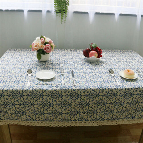 Banquet Table Cover Coffee Table Cloth Square Wedding Hotel Lace Tablecloth CO