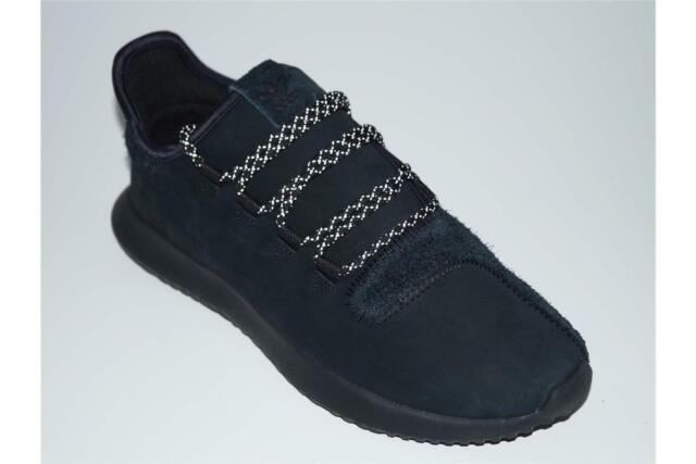 b088a24d03ac adidas Originals Tubular Shadow Core Black Suede Nubuck Men Shoes ...