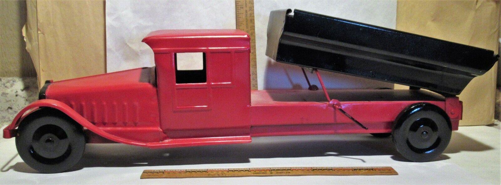 Juguete Vintage Acero Prensado Tin Camión-Cor-Cor 24