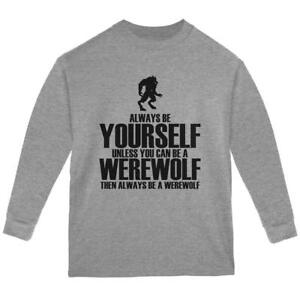 Always Be Yourself Sasquatch Forest Youth T-Shirt