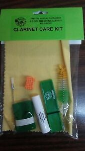 Clarinet Cleaning-Maintenance Kit