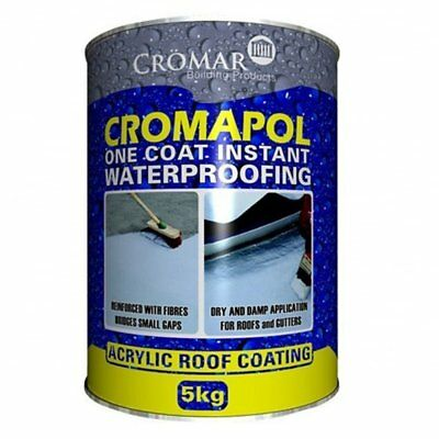 Cromapol Acrylic Roof Coat Roof Paint Sealant