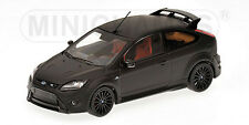 1:43 Minichamps FORD FOCUS RS 500 2010 MATT BLACK WITH RED SEATS