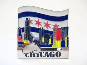 Chicago Metal Magnet Hancock Sears Willis Tower Souvenir (494)