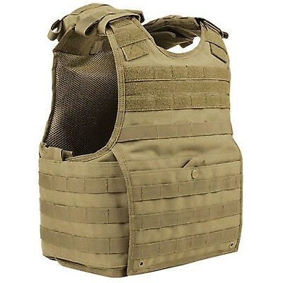 Condor XPC Tan EXO SPEAR/BALC MOLLE Armor Plate Carrier Tactical Vest L/XL