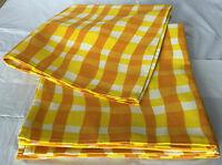 Qvc Pure Cotton Napkins 19x19 Set Of 8 Square Yellow/white Napkins Washable