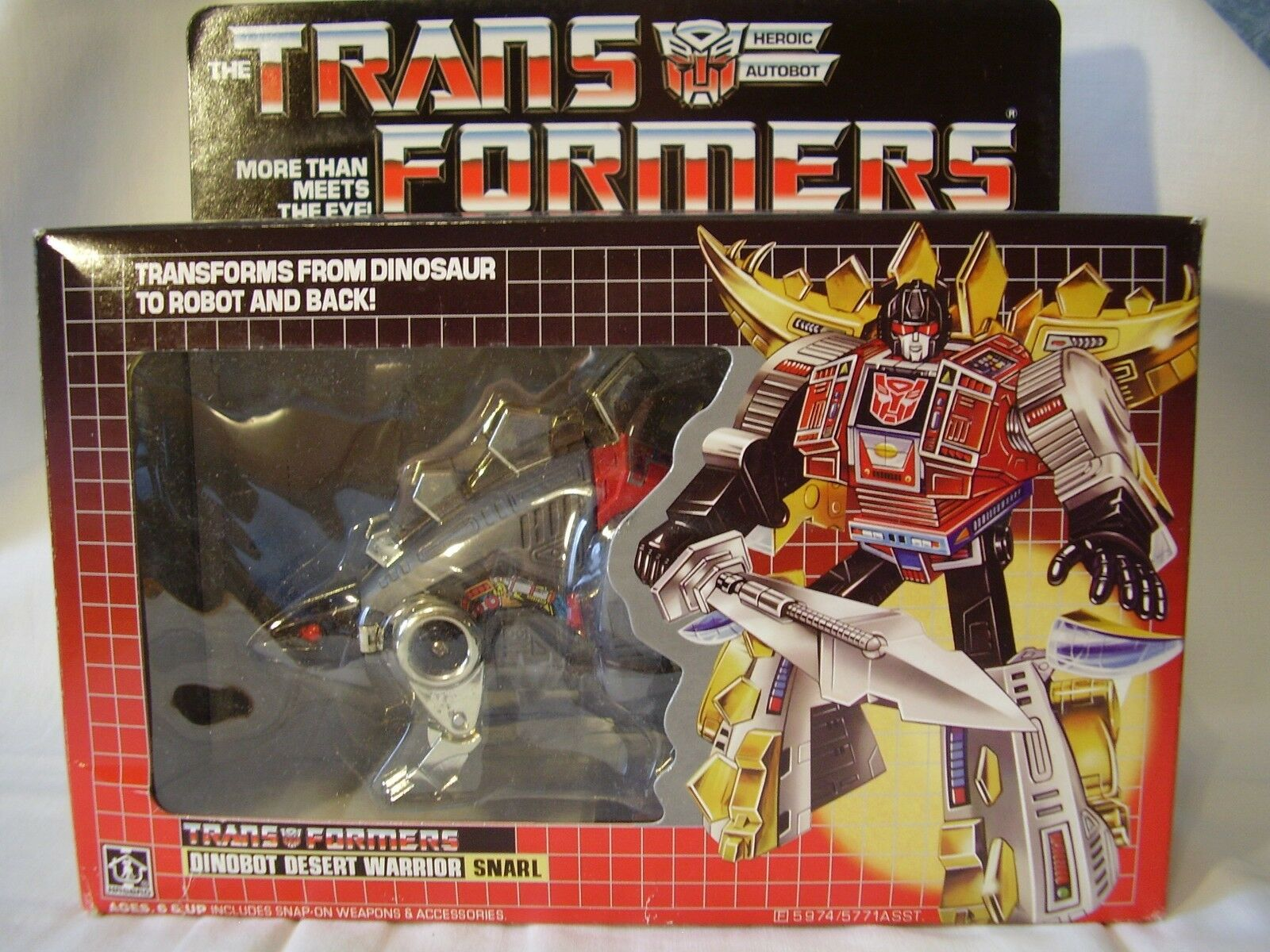 Takara Transformers G1 Dinobot Snarl