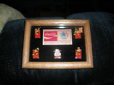 Olympic Pin Set Coca Cola Coke 1984 Los Angeles