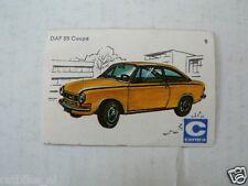 C08 CENTRA LUCIFERS,MATCHBOX LABELS OLDTIMER CAR DAF 55 COUPE