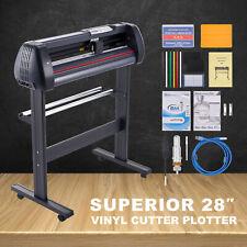 Vinyl Cutter Plotter 28in Feed 31insec Sign Maker W Signmaster Digital Controls