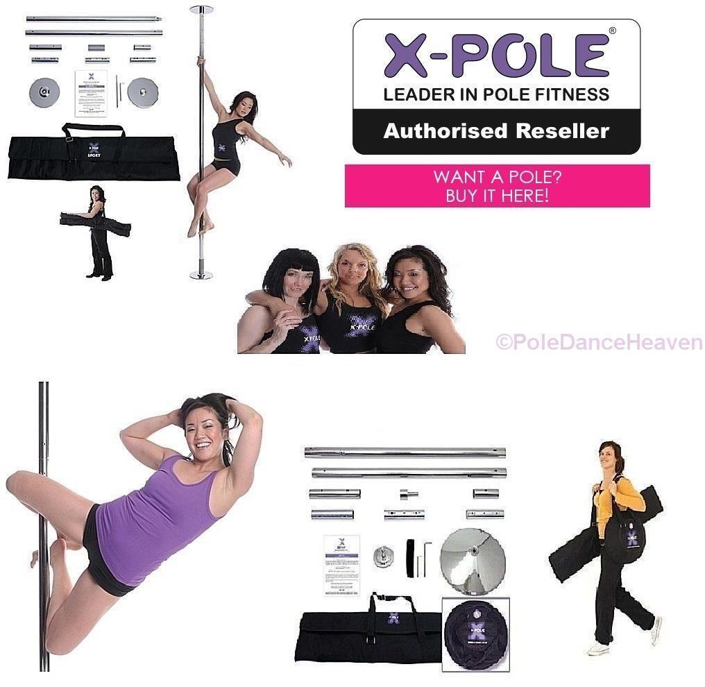 Die X-Pole XPert Neu 2017 Version meistverkaufte Statische und Spinning Stange