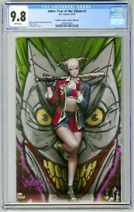 Joker-Year-of-the-Villain-1-CGC-9-8-JeeHyung-Lee-Harley-Quinn-Virgin-BATTER-UP