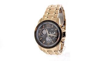 64e045210 Men's Citizen BY0108-50E Eco-Drive Chrono-Time A-T Rose Gold ...