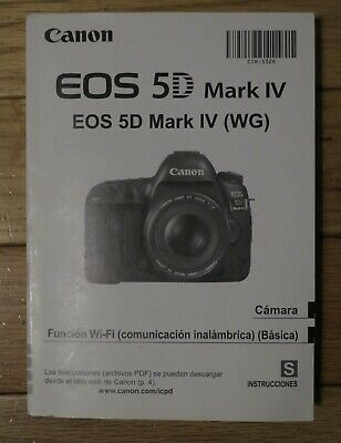 User Guide Manual #1 Canon EOS 5D Mark III Genuine Camera Instruction Book