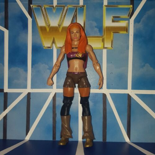 WWE Mattel Wrestling Figure Becky Lynch Basic Series 62