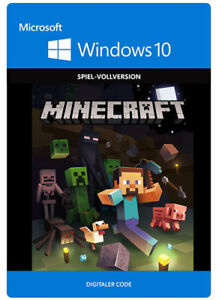Minecraft Windows Edition EUDE CD Key PC Spiel Download Code - Minecraft spielen download