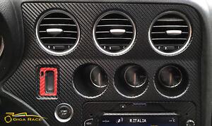 alfa-romeo-159-brera-adesivi-sticker-decal-consolle-centrale-tuning-carbon-look